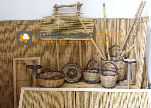 Articoli in canne palustri del salento for Canne di bamboo da arredo