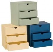 Complementi d 39 arredo e mobili in legno grezzi for Comodini grezzi da decorare