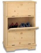 Complementi d 39 arredo e mobili in legno grezzi for Scarpiere d arredo