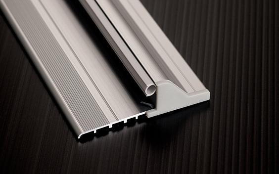 Guarnizioni porte infissi e varie soglia domatic antipioggia alluminio per porte e infissi d rain - Guarnizioni finestre alluminio ...