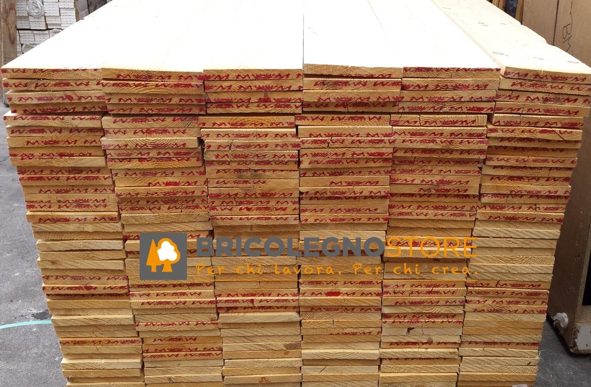 Tavole grezze in abete spessore 25 27 28 mm listello tavola abete grezzo 25 x 200 x 3000 mm - Tavole di abete prezzi ...