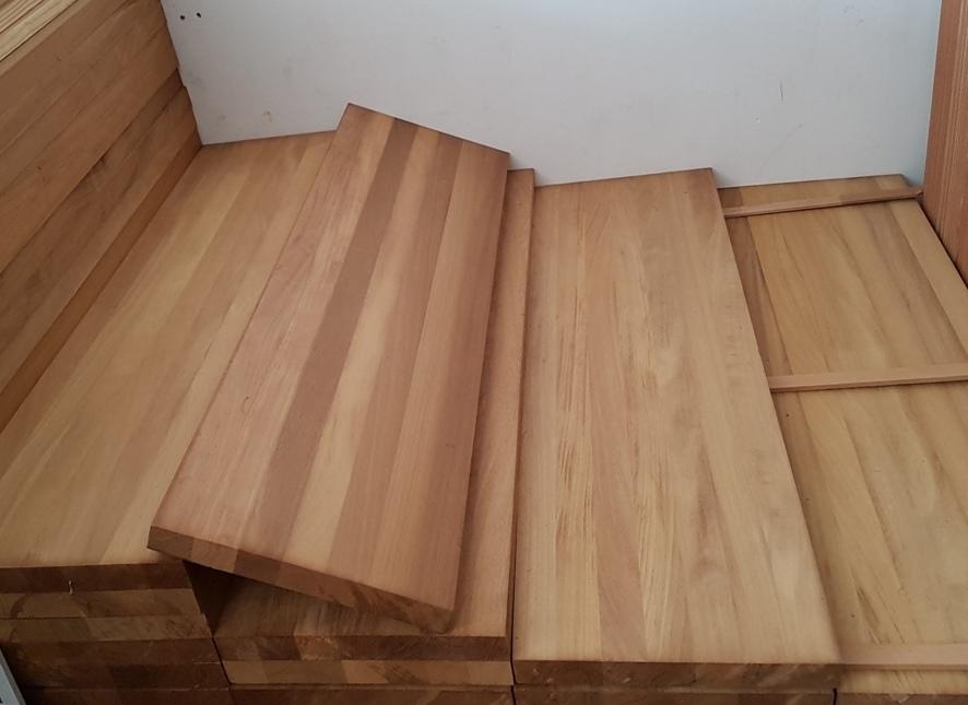 Fogli in lamellare monostrato di iroko lamellare iroko - Tavola legno lamellare faggio ...