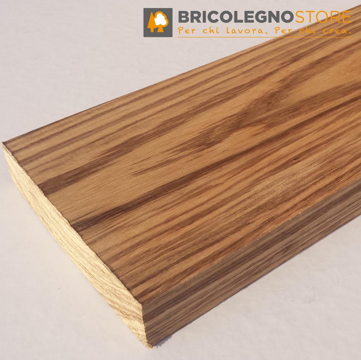 Tavole legno di BELI grezze (legno simile allo Zebrano) : Tavola ...