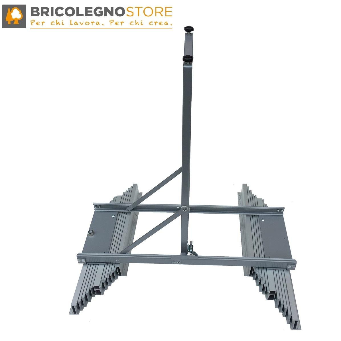 Guide Per Cassetto E Tavolo Multimarca Guide Allungabili Telescopiche In Alluminio Con Gamba Centrale Per Tavoli Estensibili E Consolle