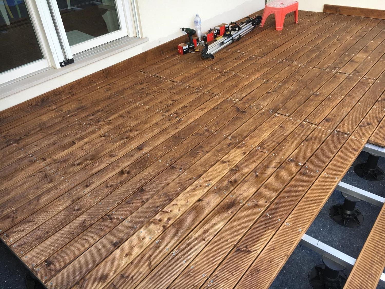 Decking pavimento in legno pavimento in legno per esterno