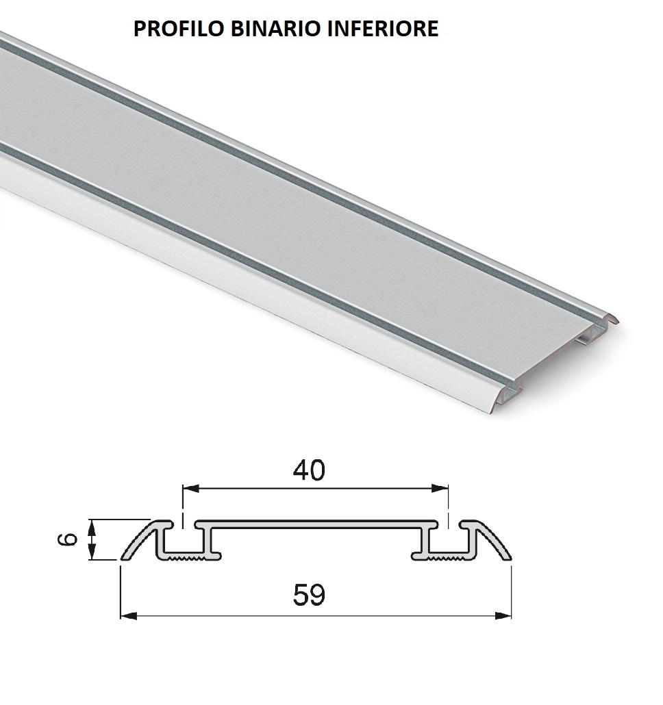 Kit Binari Ante Scorrevoli.Kit Per Porte Scorrevoli E Kit Per Porte A Libro Kit Per Armadio