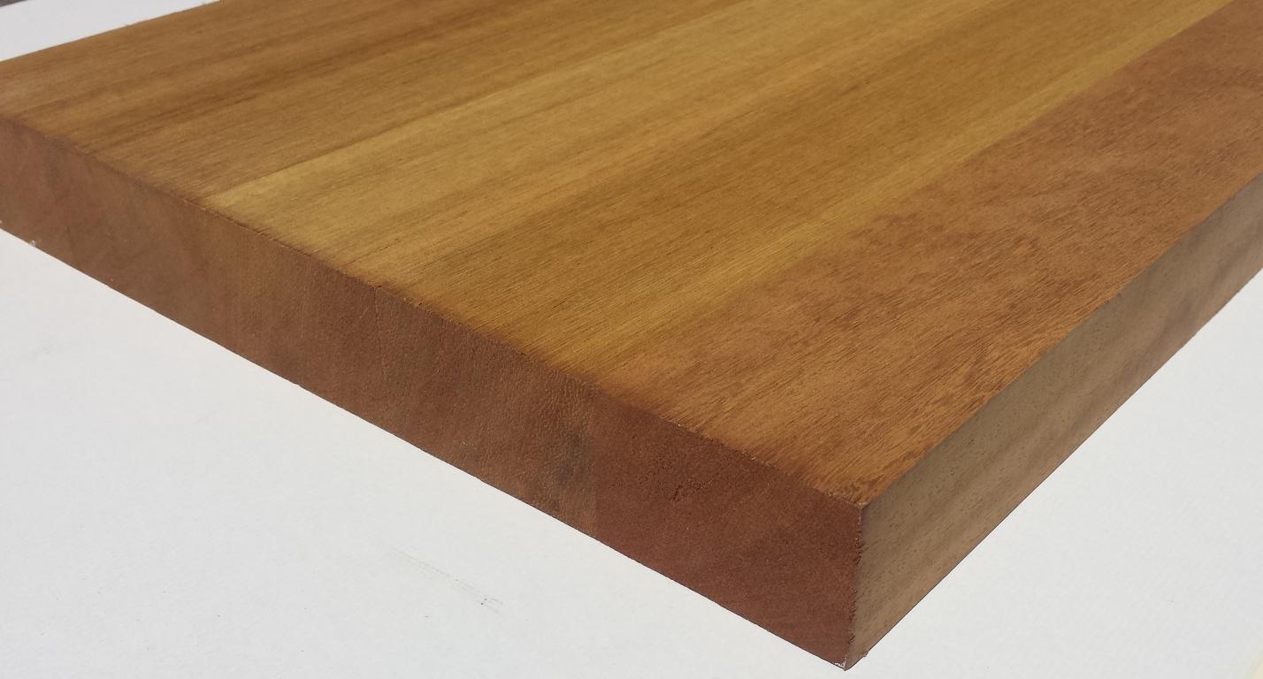 Tavole legno di iroko piallate tavola lamellare iroko mm 40 x 330 x 1150 - Tavole di abete prezzi ...