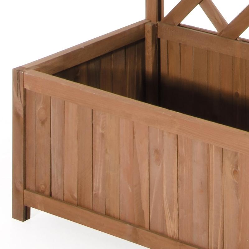Grigliati in legno pannello grigliato in legno di cedro for Cassapanche in legno per esterno