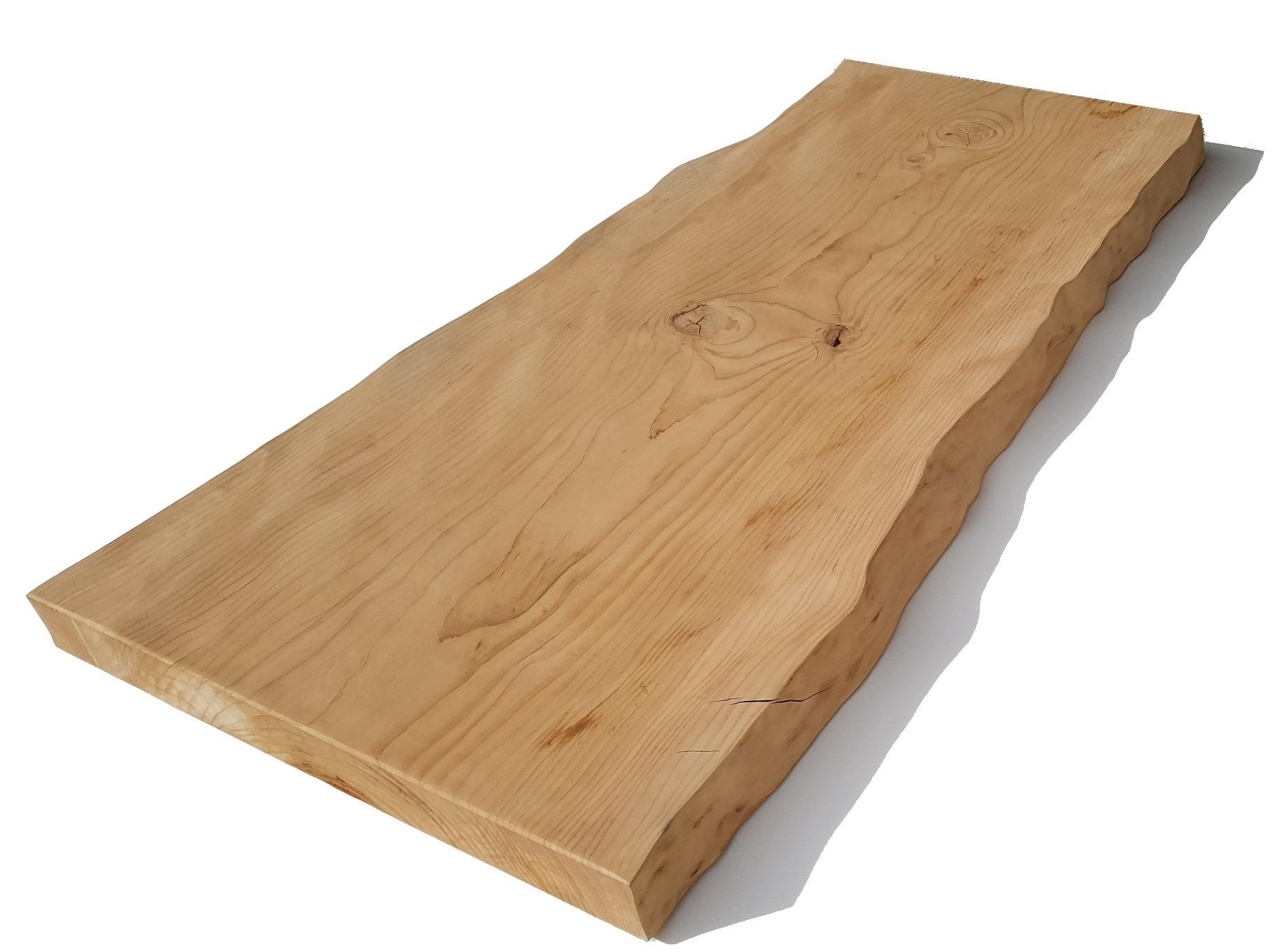 Piano Tavolo In Legno Cedro Del Libano Cm 8 X 80 X 180