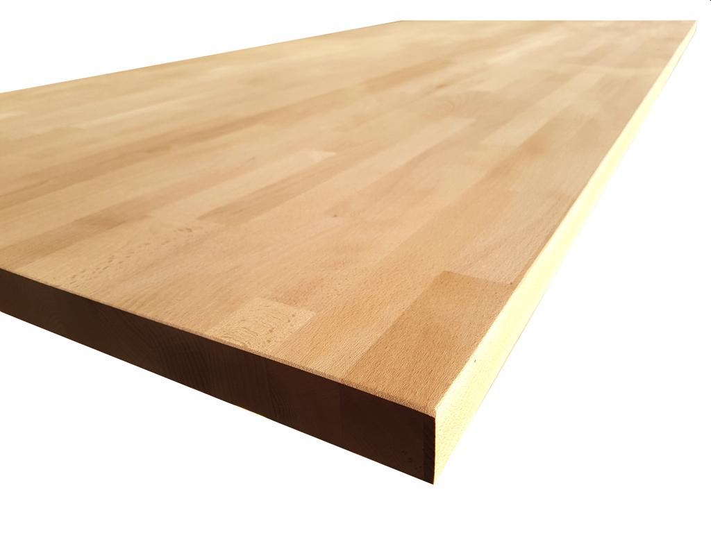 Piano Cucina In Legno Lamellare : Piano tavolo in legno di faggio