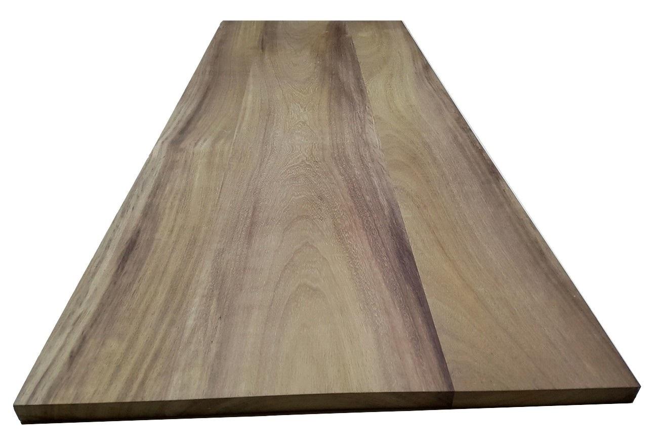 Piano tavolo in legno di Iroko : Piano Tavolo In Legno Massello ...