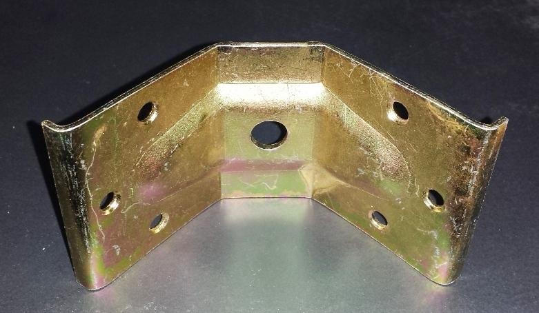 Gambe tavolo in legno e ferro piastra angolare h60 mm per gambe tavolo - Gambe tavolo legno brico ...