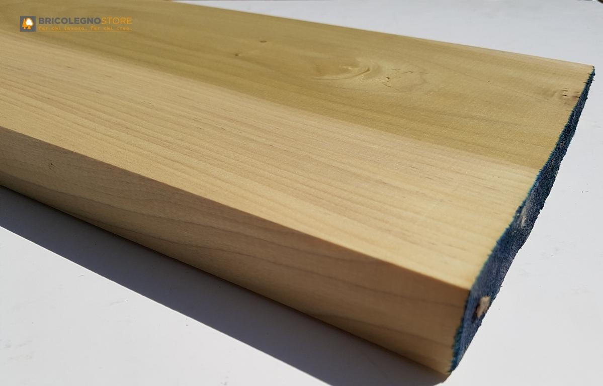 Tavole legno di tulipier piallate tavola legno tulipier piallato 4 3 x 13 x 240 cm - Tavole legno massello piallate ...