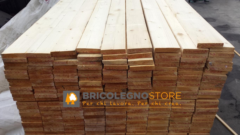 Tavole grezze in abete spessore 25 27 28 mm listello for Listelli legno leroy merlin