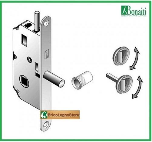 Serrature per porte e serrature per mobili kit serratura - Porte chiusura a libro ...