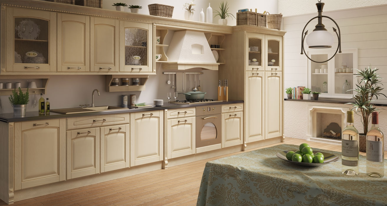 Antine grezze in legno antina bugnata centinata in frassino mod vittoria - Sportelli cucina grezzi ...