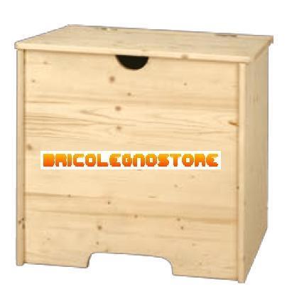 Cassapanche in kit cassapanca porta pellet cod 3371 in - Cassapanca in legno da esterno ...
