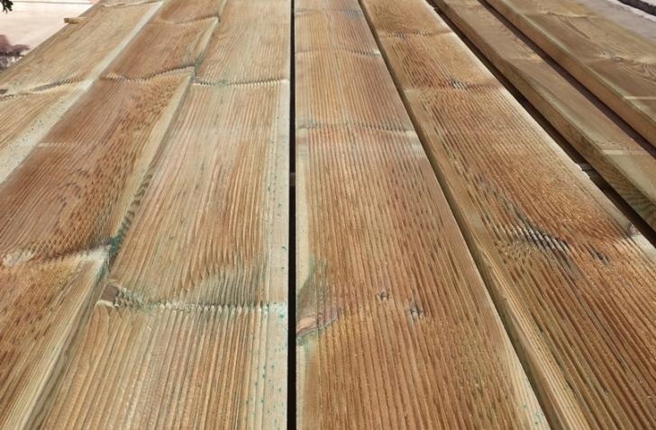 Decking pavimento in legno pavimento in legno per esterno decking in pino listone da 1000 mm - Pavimento in legno esterno ...