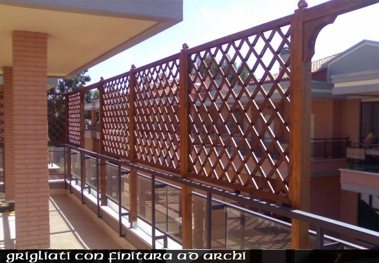 Grigliati In Legno Cornice Terminale Per Grigliato In Pino Mm 43 X