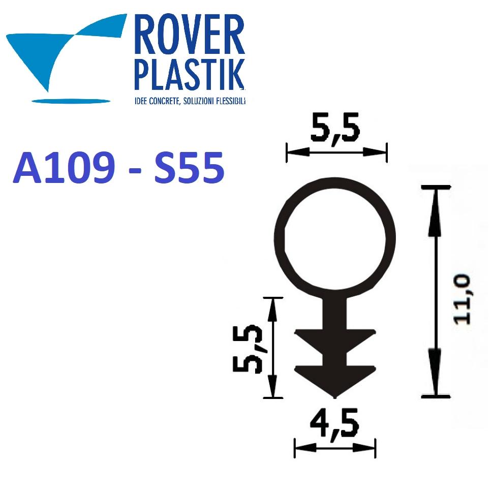 Guarnizioni porte infissi e varie guarnizione in gomma siliconica per infissi a109 s55 al metro - Guarnizioni in gomma per finestre in alluminio ...