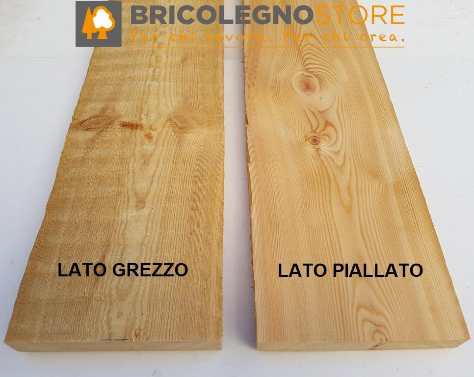 Tavole legno di larice piallate tavola larice cm 2 3 x - Tavole legno massello ...