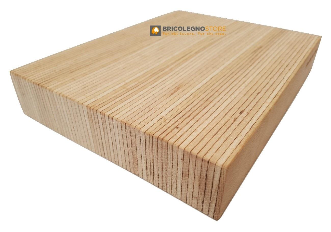 Lamellare monostrato in faggio microlamellare faggio mm 20 x 680 x 2250 baubuche tavolato - Tavole di legno per edilizia ...