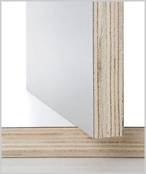 Multistrati Bilaminati : Multistrato Bilaminato Bianco mm 18x1220x2440
