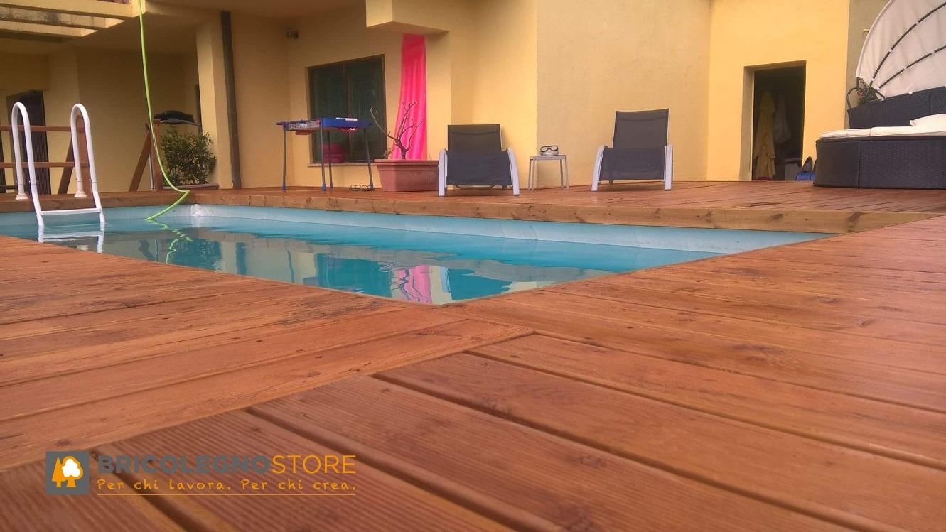 Pavimento Esterno Legno : Decking pavimento in legno pavimento in legno per esterno