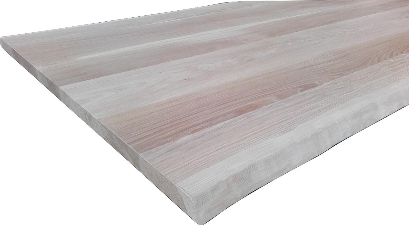 Piano tavolo in legno di rovere piano tavolo in legno for Piano per tavolo legno grezzo