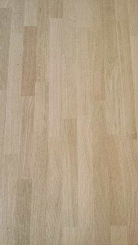 Sconto 25 piano tavolo in lamellare rovere mm 40 x 1100 for Tavola lamellare faggio