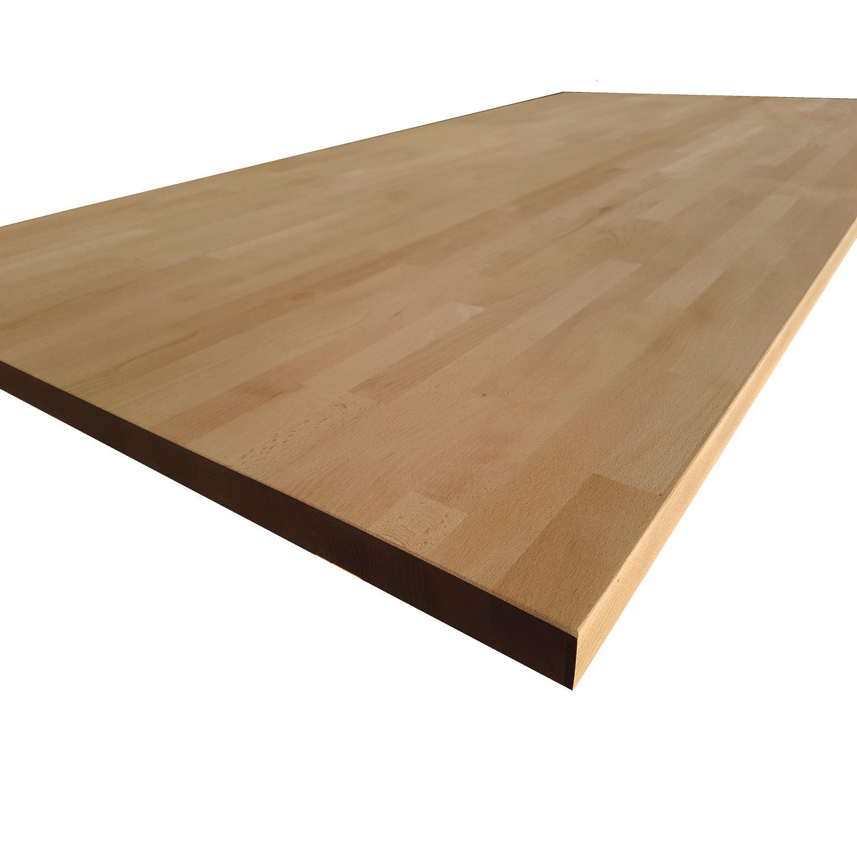 sconto 25 piano tavolo in lamellare faggio mm 40 x 1100