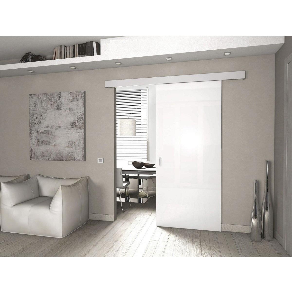 Kit scorrevole porte legno a mantovana alluminio CLASSIC ...