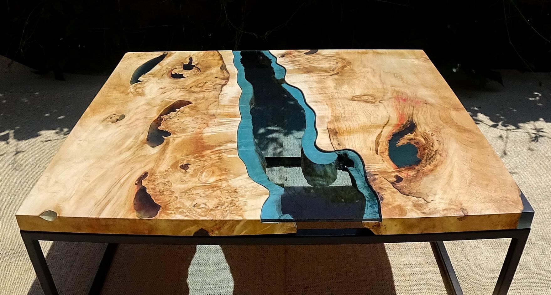 Colle adesivi e siliconi resina epossidica trasparente for Mobili wooden art