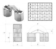 Cerniere Standard E A Scomparsa Per Mobili E Porte