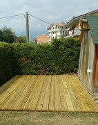 Decking Pavimento per Esterno in Pino - Listone da 2000 mm