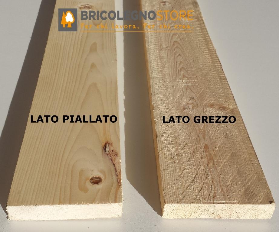 Tavole grezze in Abete spessore 25 - 27 - 28 mm : Listello Tavola ...