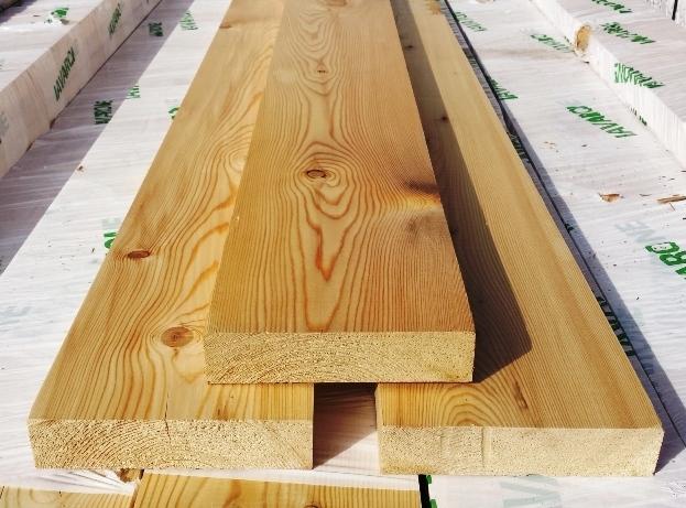 Tavole legno di Larice Piallate: Tavola Larice Rustik cm 2 ...