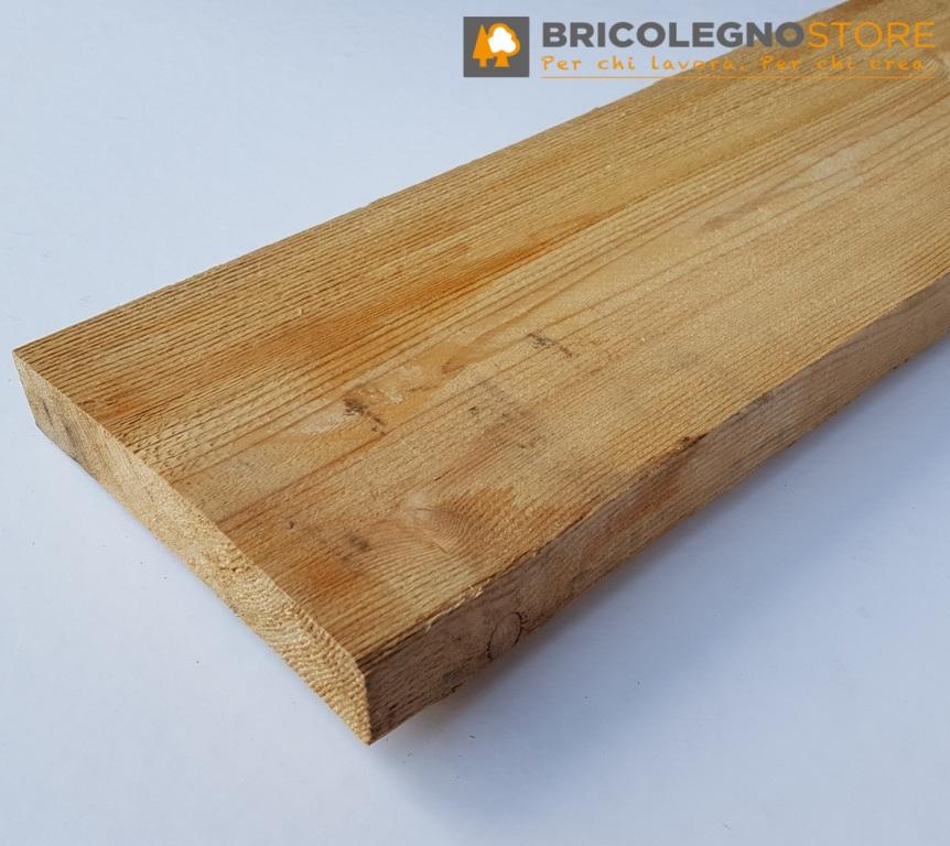 Tavole legno di LARICE : Listello Larice cm 4 x 5 x 255 grezzo