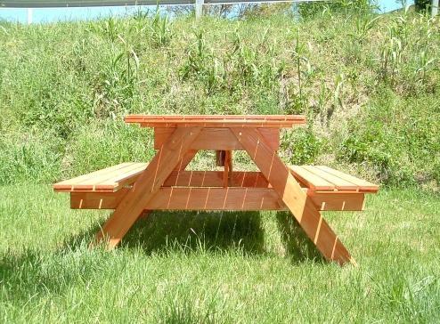 Tavoli in legno per giardino con panche tavolo da for Tavoli arredo 3