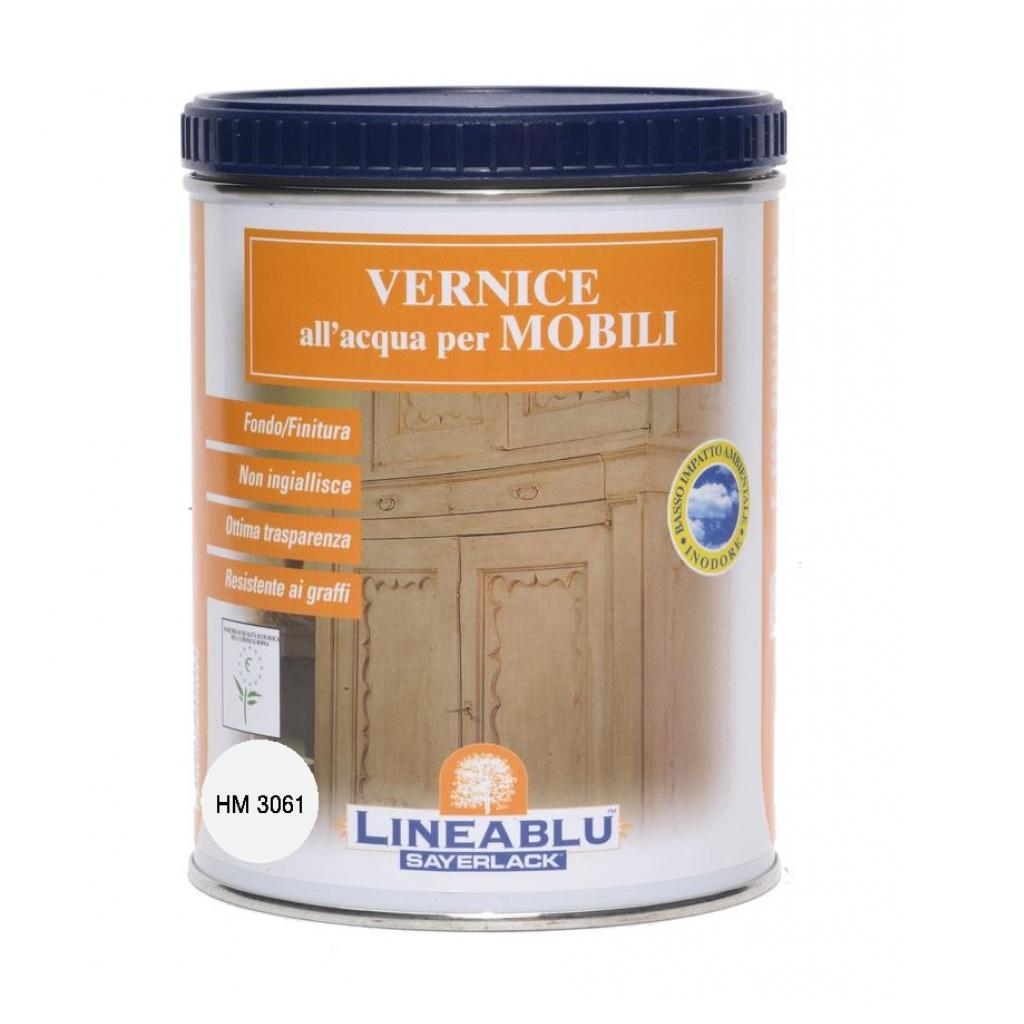 Sayerlack finitura ad acqua per interni bianco 750 ml hm3061 for Ad interni
